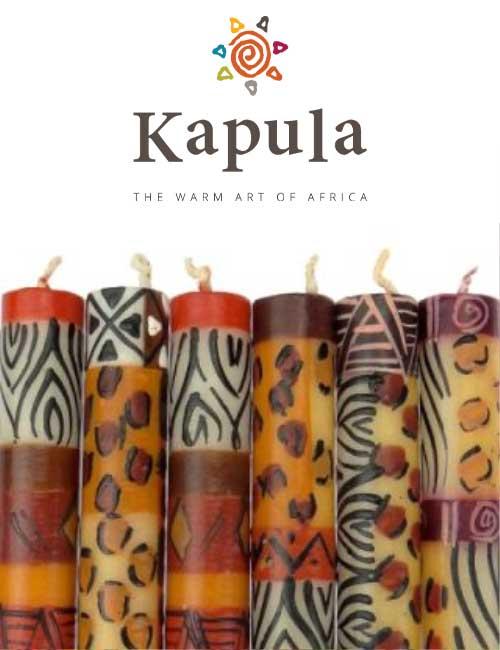 Kapula Stabkerze Animal Print