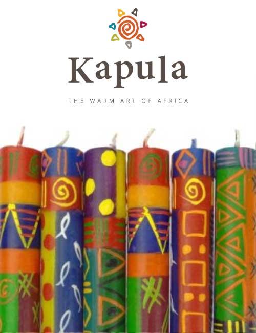 Kapula Stabkerze Multicolor
