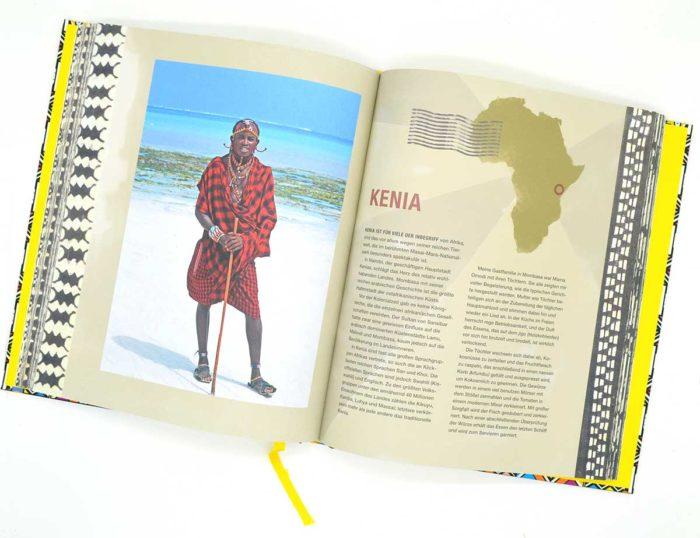 """Die Vorstellung von Kenia im Buch """"So kocht Afrika"""""""