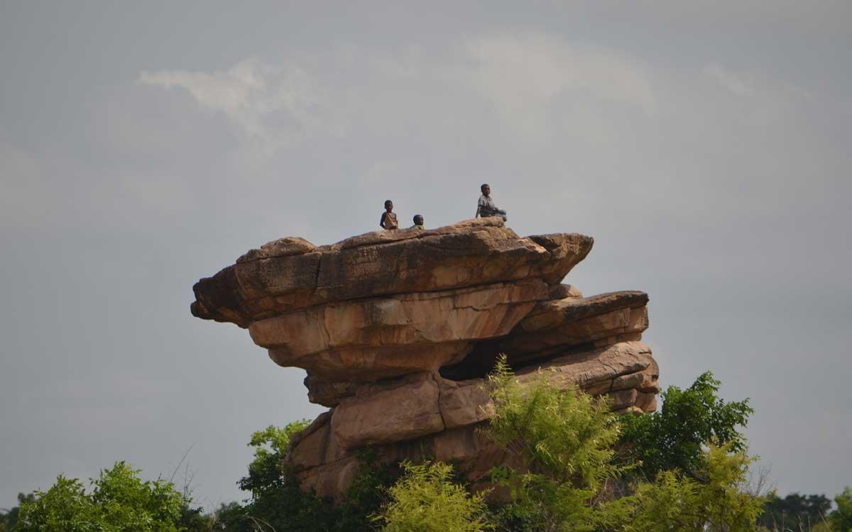 Felsen im Norden Togos