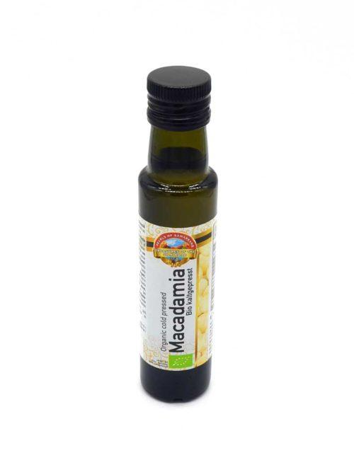 Kaltgepresstes Macadamia-Bio-Öl aus Kenia