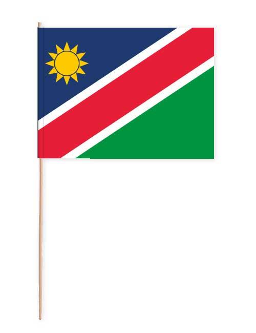 Namibia Papierfahne mit Holzstab