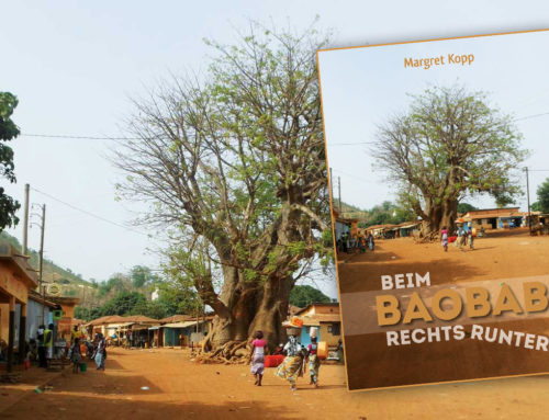 Blick ins Buch: Beim Baobab rechts runter