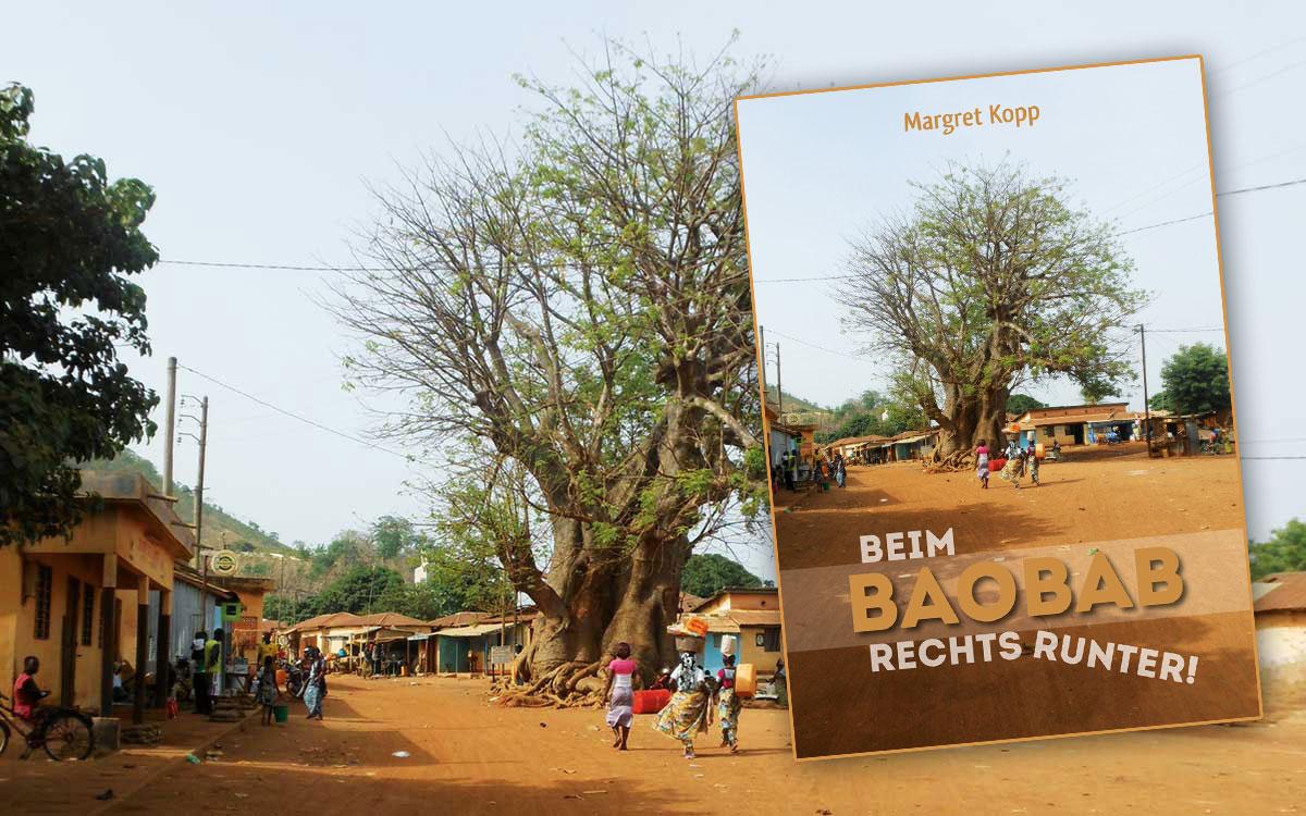 Blick ins Buch - Beim Baobab rechts runter