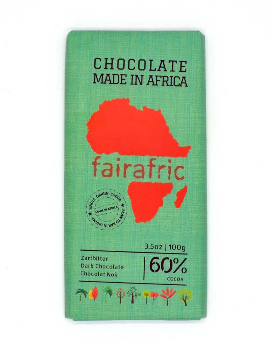 Zartbitterschokolade - 60% Kakao - fairafric
