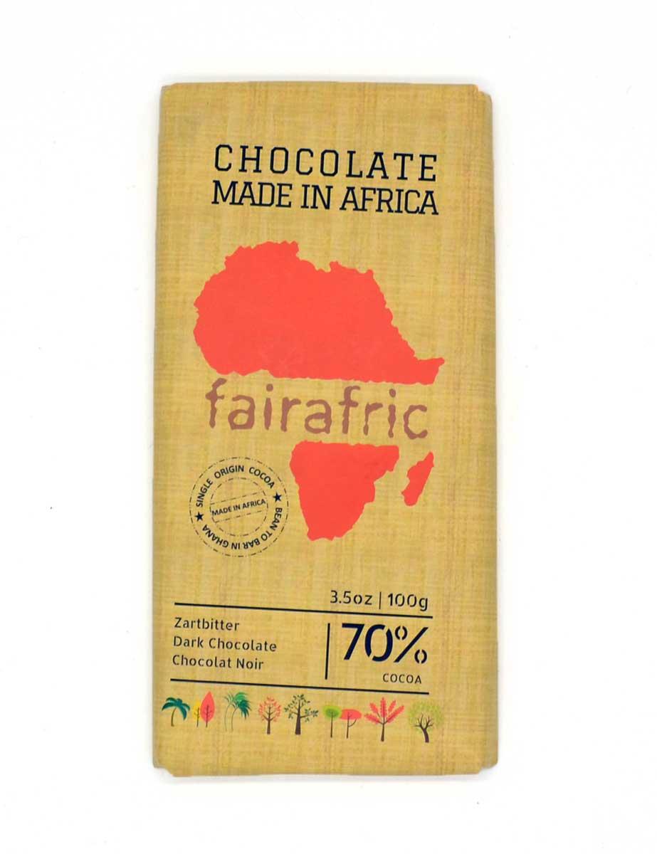 Zartbitterschokolade - 70% Kakao - fairafric