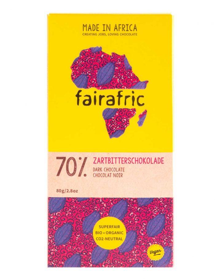 fairafric Zartbitterschokolade 70%
