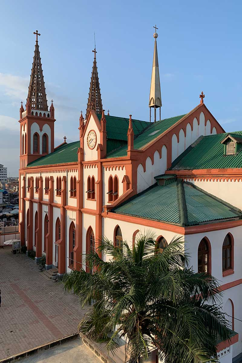 Die Kathedrale in Lome