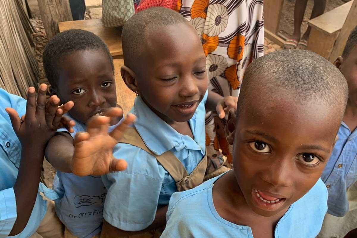 Schulkinder in Kpalime