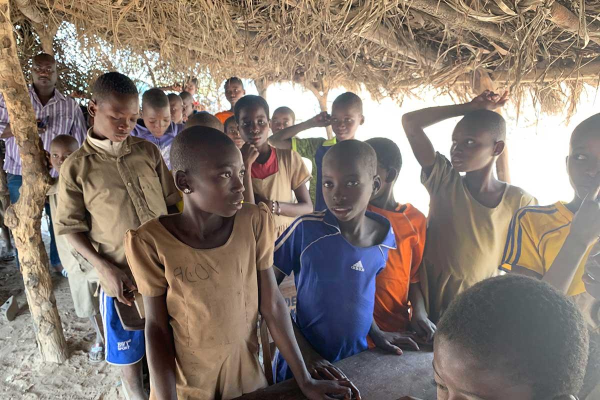 Togoischer Schulaltag