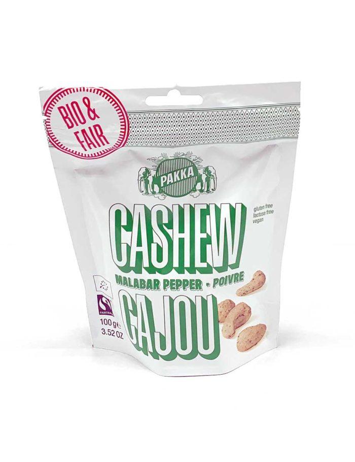 Cashew-Nüsse mit der Geschmacksrichtung Malabar-Pepper