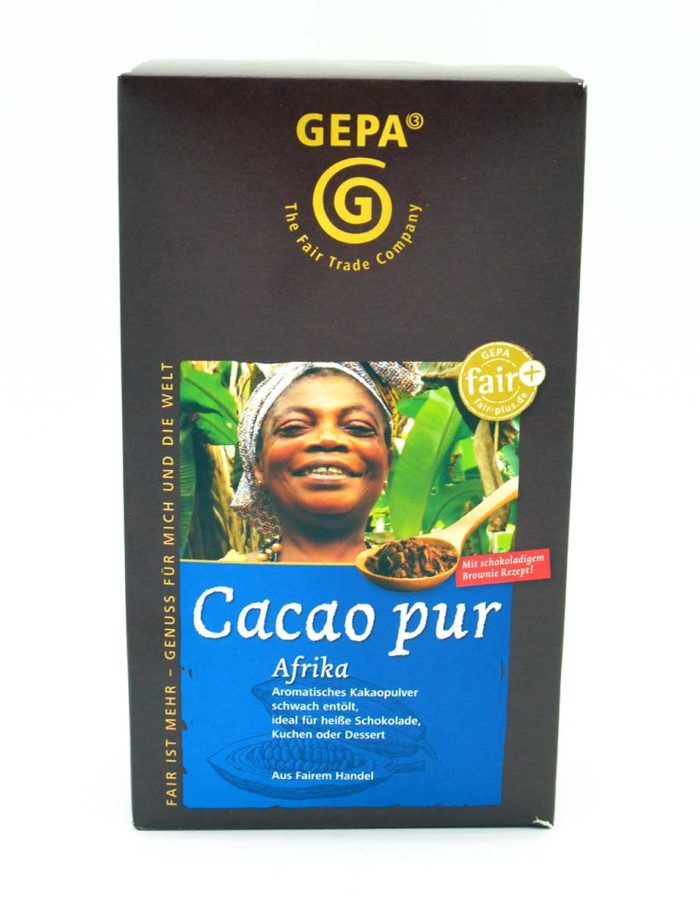 Kakapulver - Cacao pur Afrika