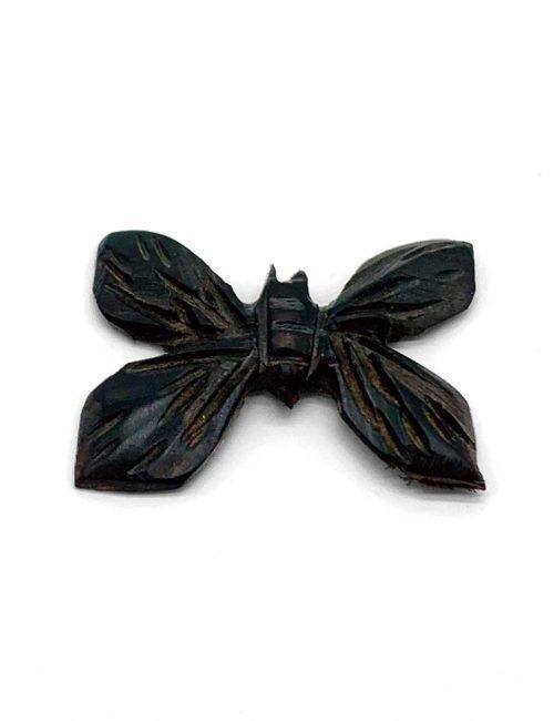 Magnet Schmetterling aus Ebenholz geschnitzt
