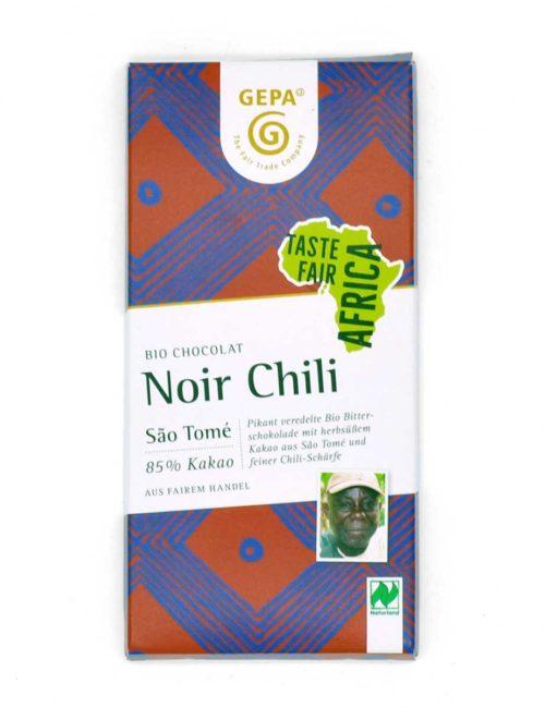 Bio-Schokolade - Noir Chili