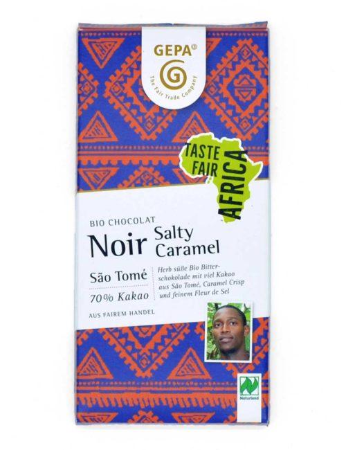Bio-Schokolade - Noir Salty Caramel