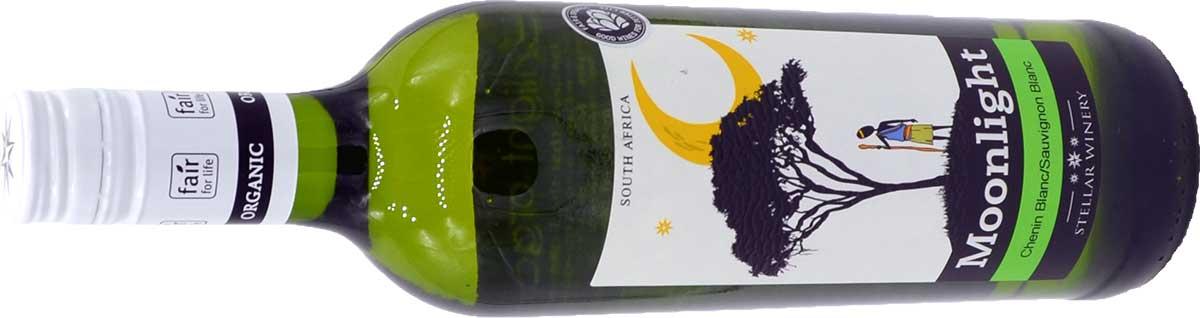 Die Flasche Moonlight Weißwein - Sauvignan-Blanc