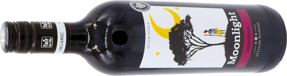Die Flasche Moonlight Rotwein - Shiraz-Merlot