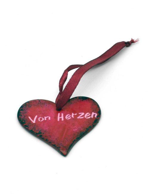 Herz-Anhänger aus Speckstein - Von Herzen