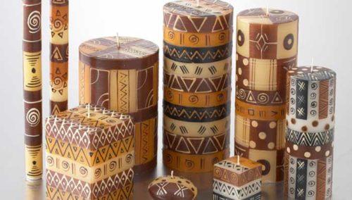 Kerzen aus Südafrika