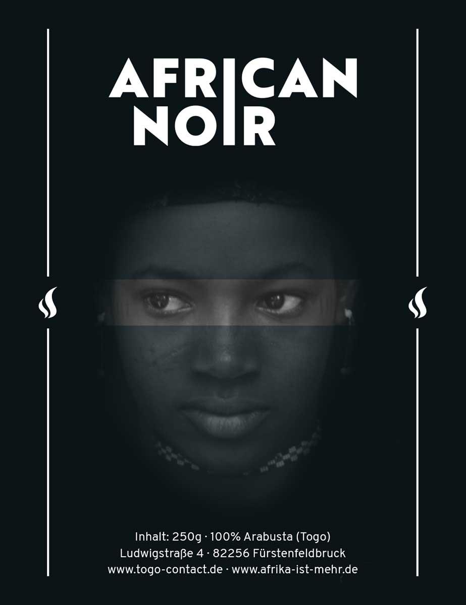 African-Noir Etikett