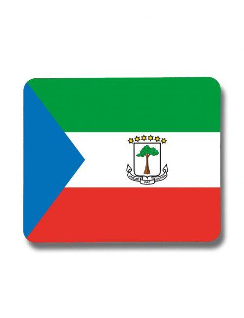 Äquatorialguinea-Mousepad mit der Fahne von Äquatorialguinea