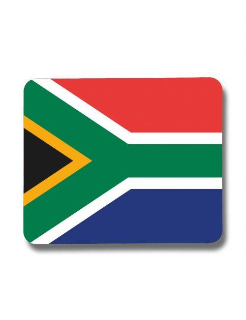 Südafrika-Mousepad mit der Fahne von Südafrika