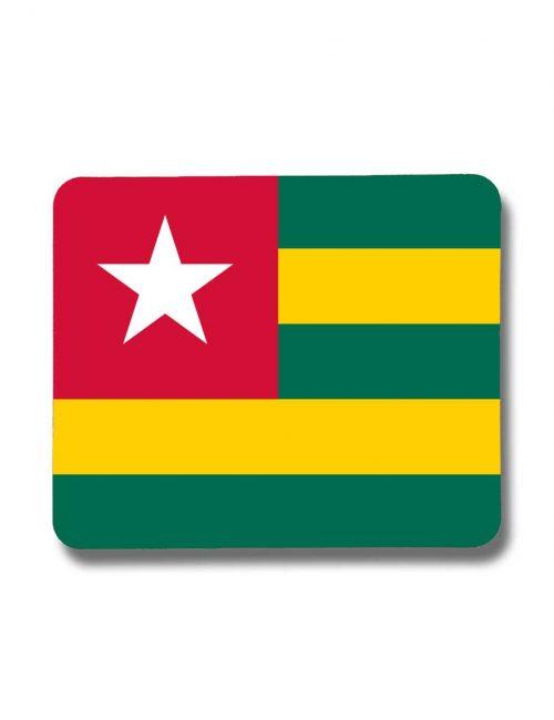 Togo-Mousepad mit der Fahne von Togo