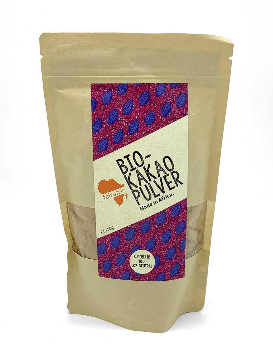 Bio-Kakao Pulver von fairafric