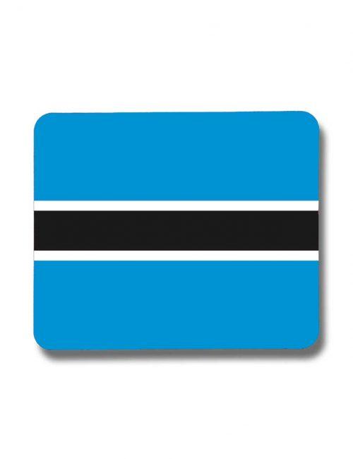 Botswana-Mousepad mit der Fahne von Botswana
