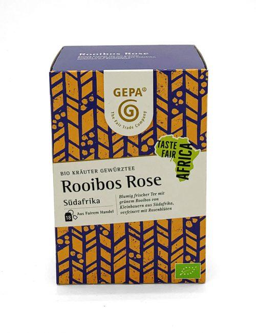 Gewürztee - Rooibos-Rose