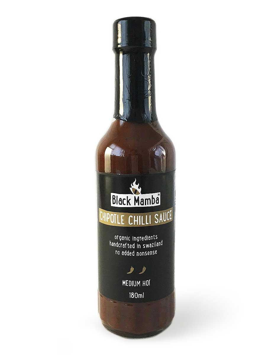Die Chipotle Chilli Sauce von Black Mamba
