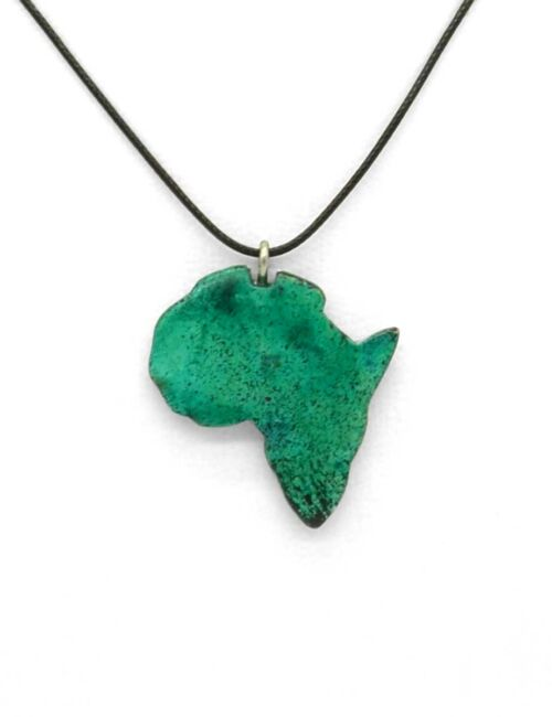 Afrika-Halskette Grün
