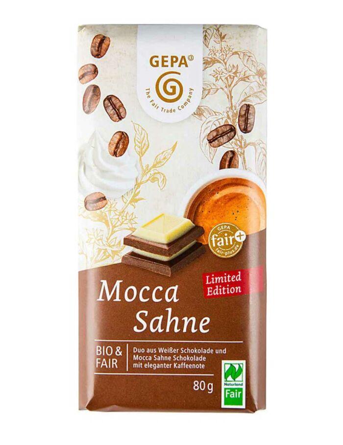 Bio-Mocca-Sahne Schokolade