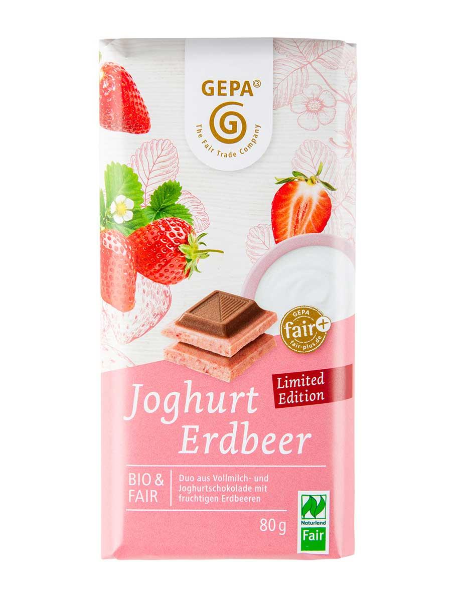 Joghurt-Erdbeer Schokolade