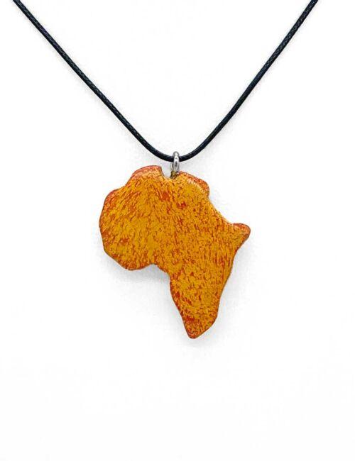 Afrika-Halskette Orange