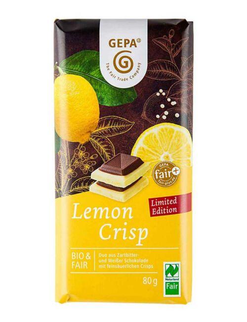 Bio Lemon-Crisp-Schokolade