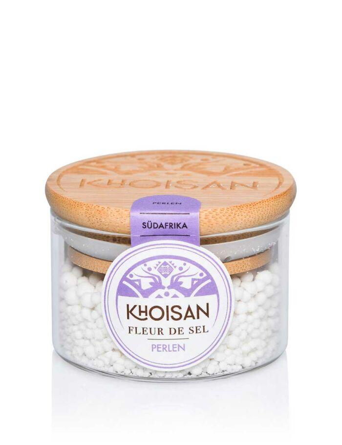 Khoisan Fleur de Sel - Meersalzperlen im Glas