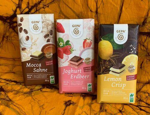 "Neue ""Limited Edition"" Schokolade"