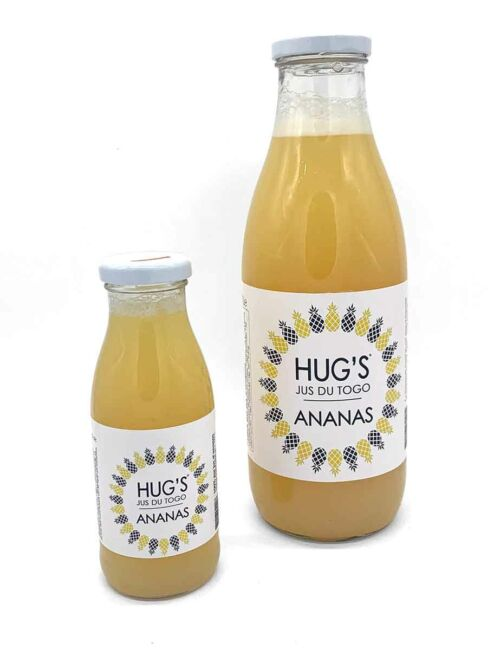 HUG'S Ananas-Saft aus Togo
